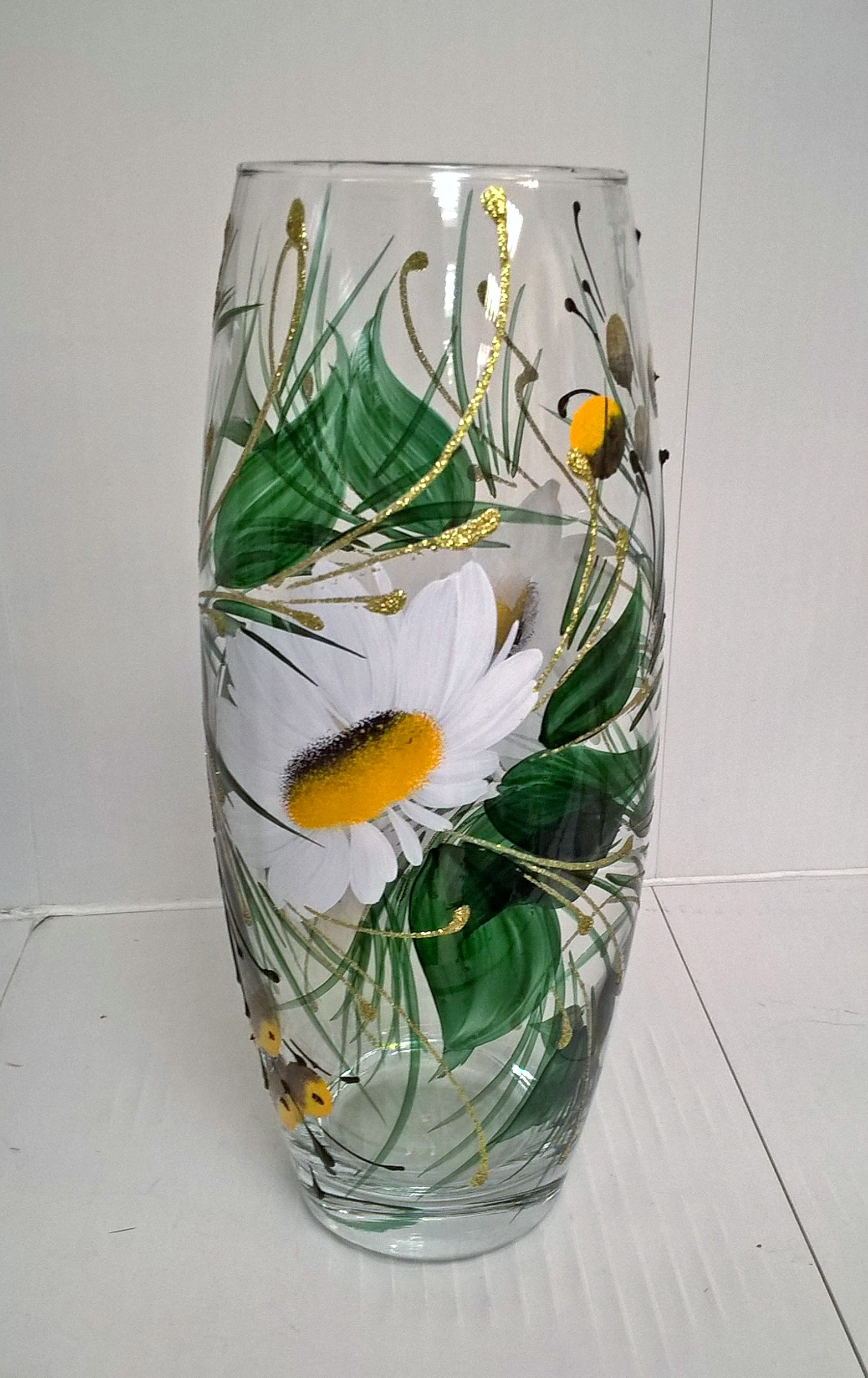 Рисунки на вазе своими руками 59